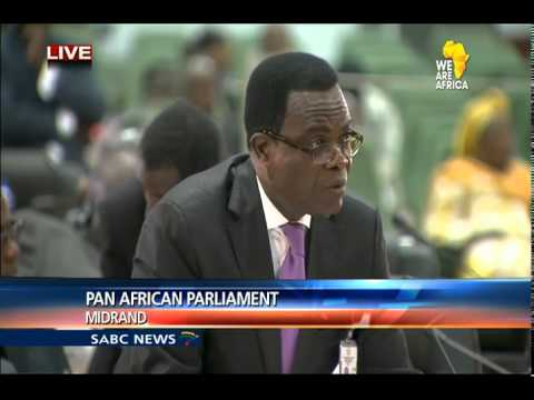 Pan-African Parliament, 20 May 2015