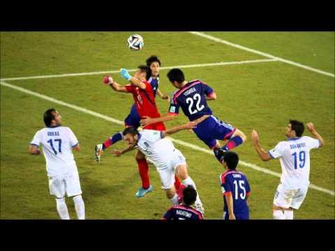 japonya yunanistan özet foto - japan vs greece 0 - 0 highlight photos