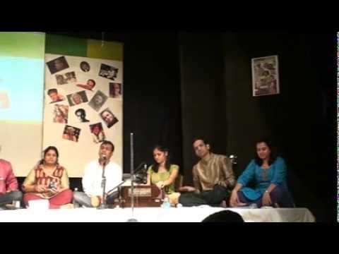 Accompanying Harmonium In Man Sudda Tuja video