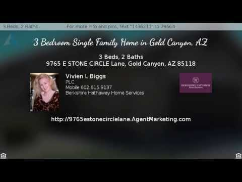 3 Bedroom Energy Efficient Home For Sale in Gold Canyon, AZ, Built by Pulte