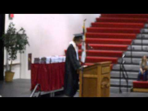 2013 Spirit Lake High School Commencement speech by class president