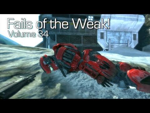 Fails of the Weak - Volume 34 - Halo 4 - (Funny Halo Bloopers and Screw Ups!)