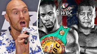 Tyson Fury BRUTAL BREAKDOWN - Wilder vs. Ortiz Rematch