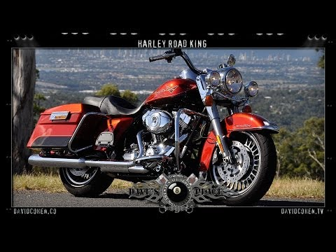FLHR Road King Test Ride