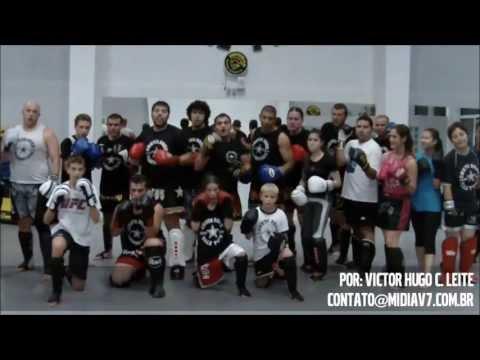 Chute Boxe - Aula de Muay Thai - Claudinei