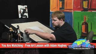How to Draw Flesh Tones with Adam Hughes