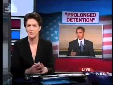 Obama Justifies NDAA Martial Law,  Pre Crime, Indefinite Detention and the End of Rights