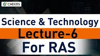 Space Science and Technology Current Affairs for RAS 2018 Exam: Lecture 6