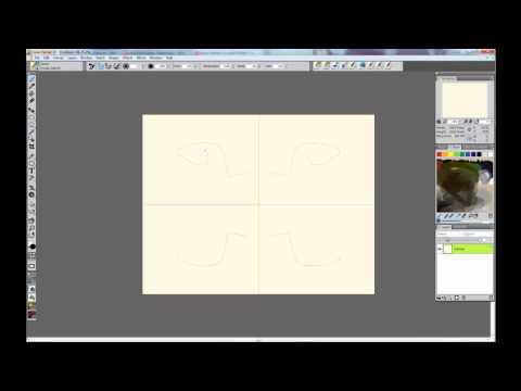Corel Painter 12 Mirror Painting Tutorial