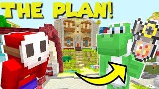 Mario Minecraft - CRAZY Plan To Turn Bowser Jr Good! [8]