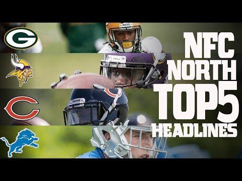 NFC North Top 5 Offseason Headlines Heading into the 2017 Season!  NFL NOW