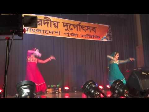 Kehna Hi Kya dance at Durga Puja 2013