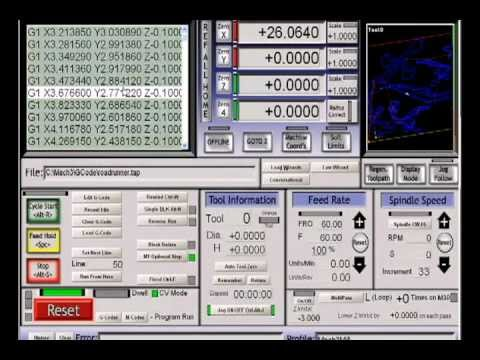 MACH 3 CNC  CONTROL SOFTWARE TUTORIAL 2 THE INTERFACE