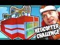Scrap Mechanic! - HELICOPTER CHALLENGE! Vs AshDubh - [#30] | ...