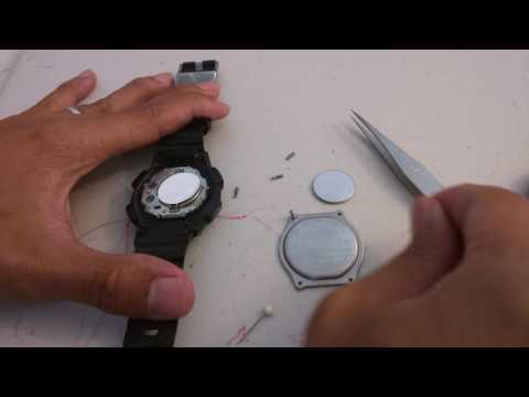 Changing Battery For Timex Ironman Shock T5K196
