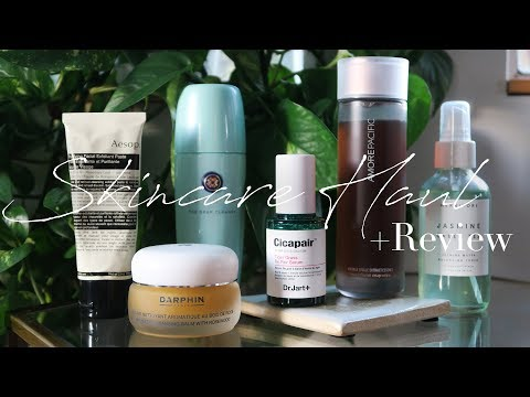 Skincare Haul + Review   Amore Pacific. Tatcha. Darphin + More