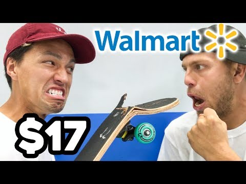 $17 WALMART BOARD GAME OF SKATE!!