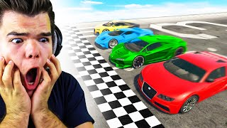 Which Car Is The FASTEST In GTA 5?! (Experiment)