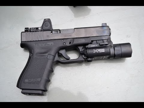 Glock 23 Gen 4 with the Trijicon RMR 3.5 MOA