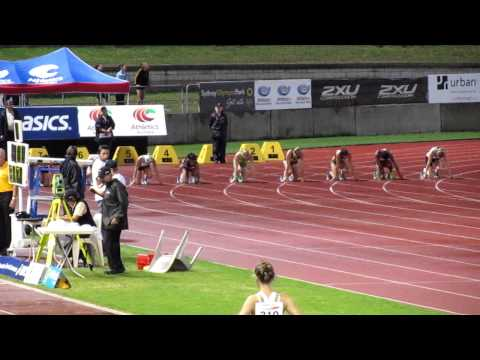 Sally Pearson 11.21 100M Sydney Track Classic 2011