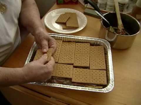 Cooking With Grandma Ice Box Cake Youtube