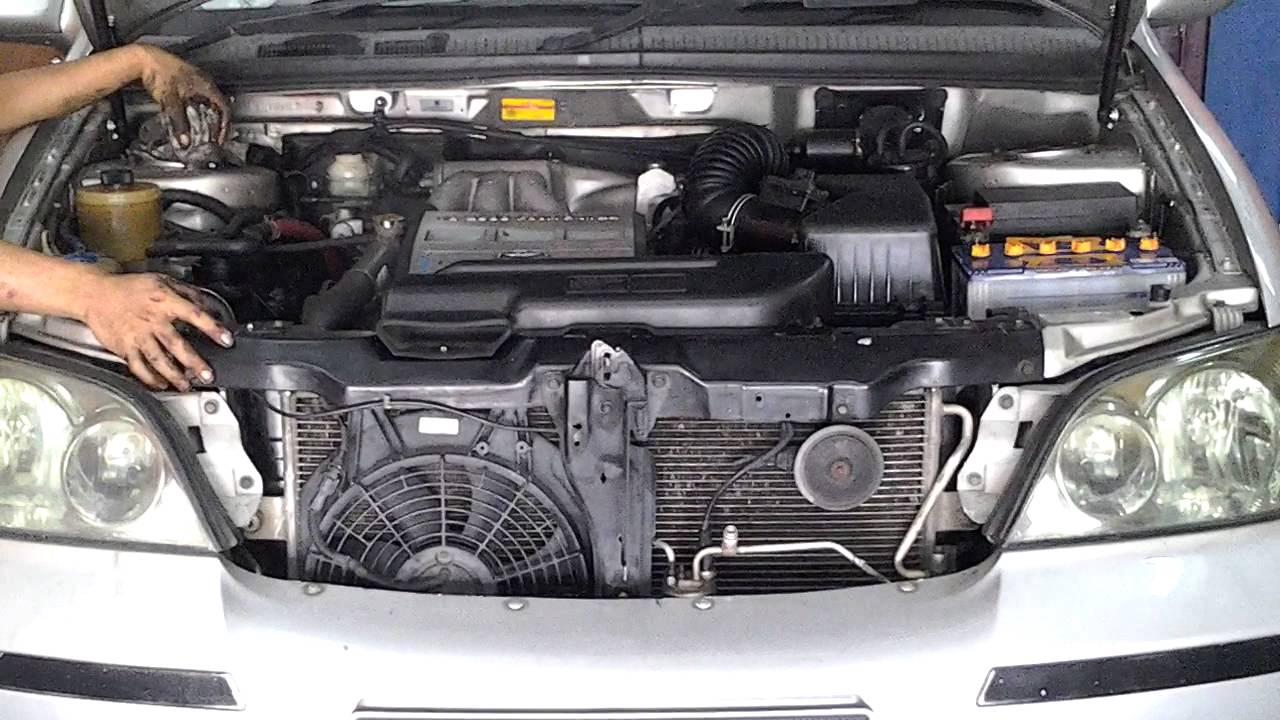 Naza Ria Or Kia Carnival Convert To Engine Toyota 2 5v6