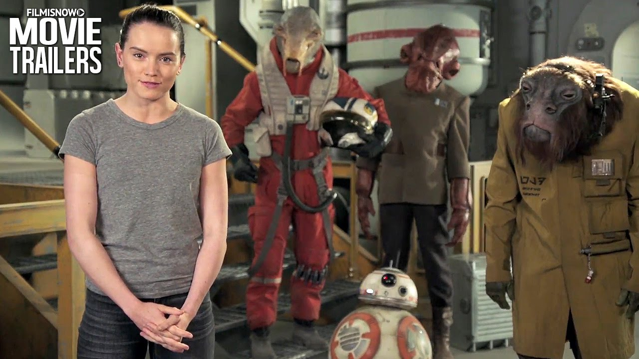 Happy Star Wars Day from Daisy Ridley | May 4th be With you!