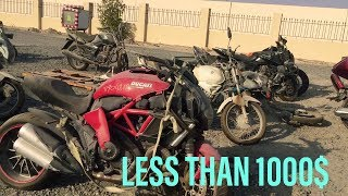 BUYING CRASHED SUPER BIKES IN DUBAI