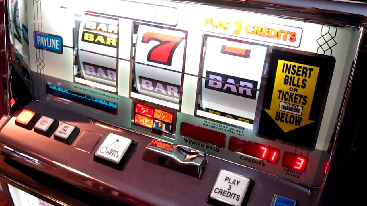 crystal sevens slot machine