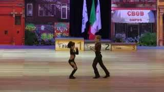 Kitti Szöke & Benedek Polyánki - Europameisterschaft 2015