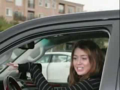 Who Taught Miley Cyrus How to Drive? gets permit, Porsche Cayenne $90000 #1