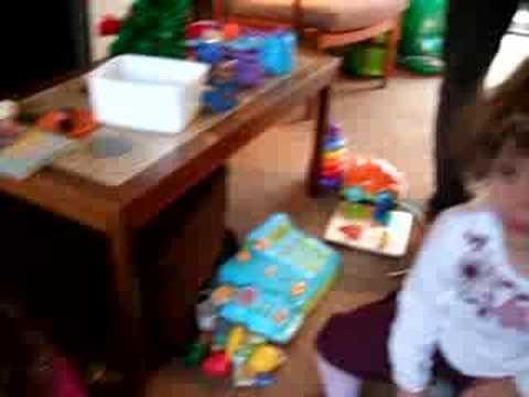 Salter Sackin Family Christmas 2007 - Space Hopper!