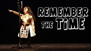 Ayla - Remember The Time Michael Jackson Cover By 5 Year Old
