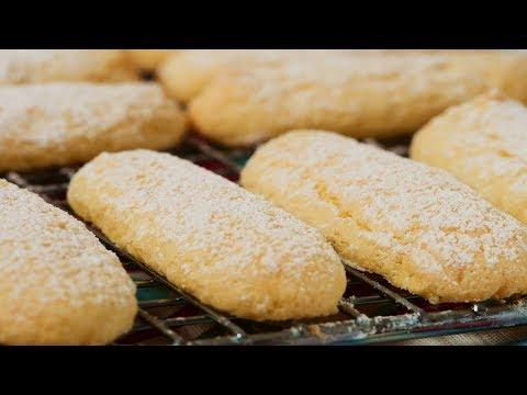 Ladyfingers Recipe Demonstration - Joyofbaking.com