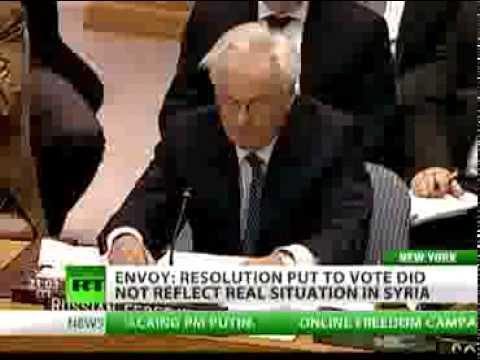 Vitaly Churkin at the United Nations Security Council
