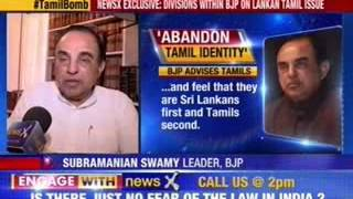 Dr. Subramanian Swamy  advises Tamil parties on staying relevant