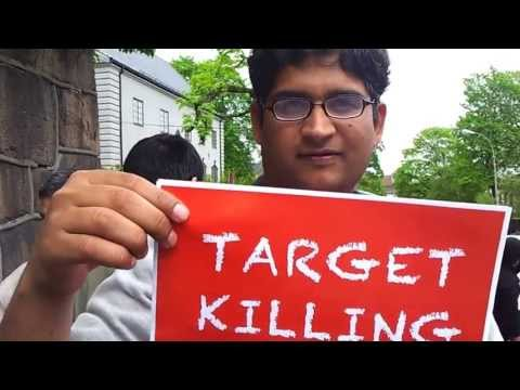 Protest against MQM Altaf hussain in Oslo-Norway - 21.05.2013 CLIP 2/3