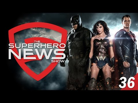 Superhero News #36: Batman v Superman in Total Film!