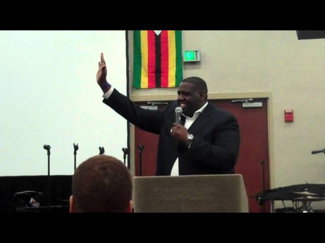 Min. Daniel Kennebrew Preaching @ the 2012 COCHUSA National Convention