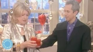 Shaken Holiday Martini - Martha Stewart