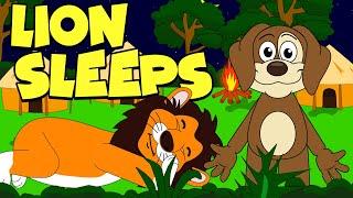 The Lion Sleeps Tonight | Nursery Rhymes And Kids Songs | Puppy Hey Hey