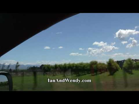Scenes from Driving from Napier to Wellington, New Zealand - in HD