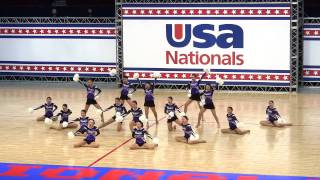 Violets in USA Nationals 2015 / 2nd Place!