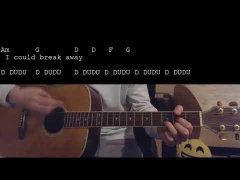 Kelly Clarkson - Breakaway EASY Guitar Tutorial
