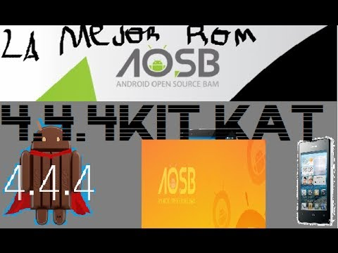 Nueva Rom 4.4.4 Kitkat[ultima Version]para Huawei Y300]¨[g510 2014 video