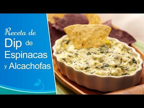 Receta de Dip de Espinacas y Alcachofas - Nestlé®