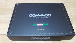 [Unboxing] 마마무 공식 무무 2기 스페셜 박스 언박싱 (Mamamoo 2nd Official fanclub 'MooMoo' special box Unboxing)
