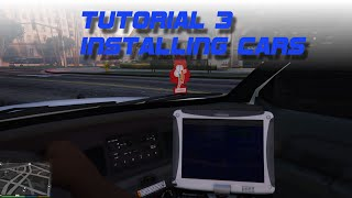 TUTORIAL #3 - INSTALL VEHICLES FOR GTA V / LSPDFR Police Cars