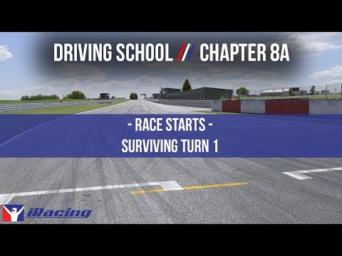 iRacing.com Driving School Chapter 8A: Race Starts - Surviving Turn 1
