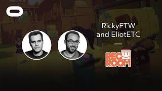 Rec Room   VR Playthrough   Oculus Rift Stream with RickyFTW and EliotETC